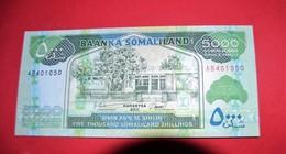 Somaliland - Pick 21 - 5000 Shillings 2011 - Unc - NEUF - Somalia
