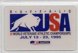 RR Phonecard - Athlete Complimentary - BUFFALO 95 - Stati Uniti