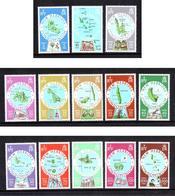 NOUVELLES HEBRIDES 1977 N° 508 à 520 * * Neufs Lot - 1848 - Légende Anglaise