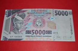 GUINEA 5000 FRANCS 2015 Pick 49 - UNC - NEUF - Guinea