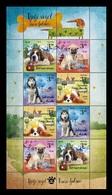 Croatia 2019 Mih. 1356/59 Fauna. Children's World. Pets. Dogs (M/S) MNH ** - Croacia