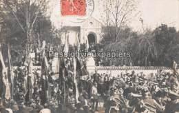 CARTE PHOTO GRAVELOTTE  1905  VISITE DU KAISER POUR L'INAUGURATION Du MAUSOLEE - Otros Municipios