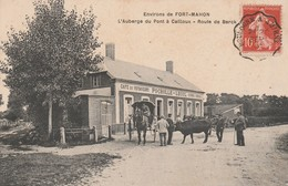 80790 FORT MAHON - AUBERGE DU PONT A CAILLOUX En 1907 - Fort Mahon