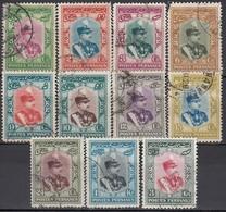 IRAN 1929 - MiNr: 581 - 596   Lot 11x Used - Iran