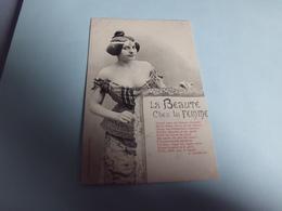 BELLE ILLUSTRATION .....LA BEAUTE CHEZ LA FEMME - Bergeret