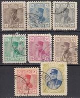 IRAN 1933 - MiNr: 625 - 639   Lot 8x Used - Iran