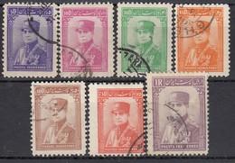 IRAN 1935 - MiNr: 687 - 700  Lot 7x   Used - Iran