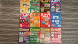 STAMPS MAGAZINE JANUARY 1991 TO DECEMBER 1991 (VOLUME 11 No. 1 TO VOLUME 11 No. 12) - Magazines