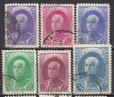 IRAN 1936 - MiNr: 701 - 715   Lot 6x   Used - Iran