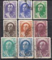 IRAN 1938 - MiNr: 726 - 740   Lot 9x   Used - Iran
