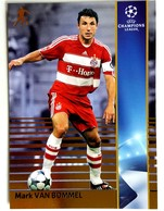 Mark Van Bommel (NED) Team Bayern Munchen (GER) - Official Trading Card Champions League 2008-2009, Panini Italy - Singles