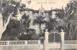 CANNES  -  Villa Saint Henri ( Boulevard Jean Hibert ) - Cannes