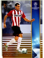 Danko Lazovic (SRB) Team PSV Eindhoven (NED) - Official Trading Card Champions League 2008-2009, Panini Italy - Singles (Simples)