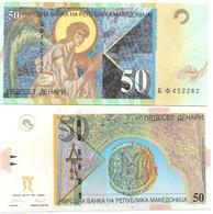Macedonia - 50 Denari 1997 AUNC Lemberg-Zp - Macédoine