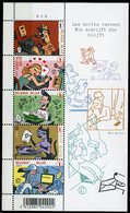 Blok 148** Met Zegels 3710/14** Bloc 148 MNH Les écrivants Restent / Wie Schrijft Die Blijft!! - Blocks & Sheetlets 1962-....