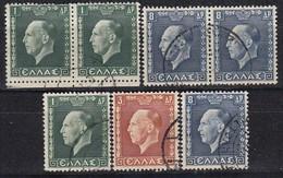 GRIECHENLAND 1937 -  MiNr: 390-392  Used - Griechenland