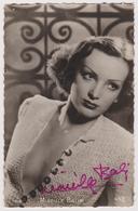 MIREILLE BALIN - Cpsm Avec Autographe - Actrice De Cinema - Ed. P.I. Star N° 108 - Artistes