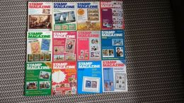 STAMP MAGAZINE JANUARY 1981 TO DECEMBER 1981  ( VOLUME 47 No. 1 - VOLUME 47 No. 12 - Riviste