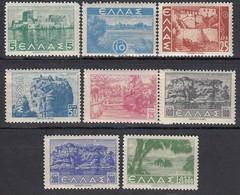 GRIECHENLAND 1942 - MiNr: 464-481 - 8 Werte  ** / MNH + MH - Griechenland