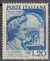 ITALIA - 1949 - Yvert 552 Nuovo MH. - 6. 1946-.. República