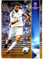 Ruud Van Nistelrooy (NED) Team Real Madrid (ESP) - Official Trading Card Champions League 2008-2009, Panini Italy - Singles