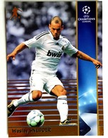 Wesley Sneijder (NED) Team Real Madrid (ESP) - Official Trading Card Champions League 2008-2009, Panini Italy - Singles