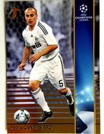 Fabio Cannavaro (ITA) Team Real Madrid (ESP) - Official Trading Card Champions League 2008-2009, Panini Italy - Singles (Simples)