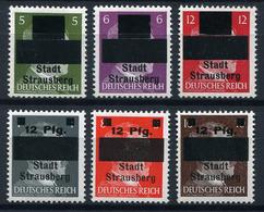 43392) LOKALAUSGABEN Strausberg # 1-6 Postfrisch Aus 1945, 200.- € - Sowjetische Zone (SBZ)