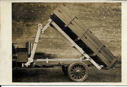 UN PLATEAU  BASCULANT  ROUES DE  CAMION En BOIS - Camions & Poids Lourds