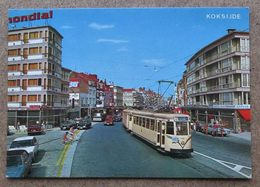 (K163) - Koksijde - Koninklijde Baan / Route Royale + Tram Et Agence De La Terrasse - Koksijde