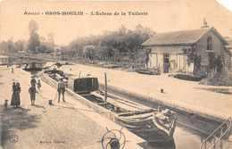 AMILLY  GROS MOULIN  -  L'écluse De La Tuilerie ( Passage Péniche ) Voir état - Amilly