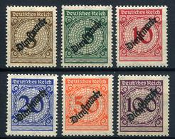 43399) DEUTSCHES REICH Dienst # 99-104 Postfrisch Aus 1923, 30.- € - Officials