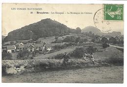 BRUYERES EN VOSGES - Les Baraques, La Montagne Du Château - Bruyeres
