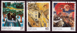 Portugal Mi 1769,1771 Paintings Gestempeld  Fine Used - 1910-... Republiek