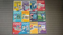 STAMP MAGAZINE JANUARY 1992 TO DECEMBER 1992  ( VOLUME 58 No. 1 - VOLUME 58 No. 12 ) - Magazines