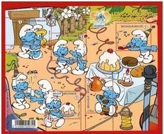 Blok 159** Les Schtroumpfs / 50 Jaar Smurfen / The Smurfs / Peyo 3809/13** - Blocks & Sheetlets 1962-....