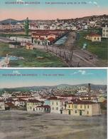 Lot De 2 CPA Salonique - Souvenir De Salonique - Vue Du Côté Nord / Vue Panoramique - Grèce