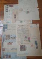 1867 - 1964 LOTTO Di Documenti Con 66 MARCHE DA BOLLO Fiscali VARIE - VEDI FOTO - 1861-78 Vittorio Emanuele II