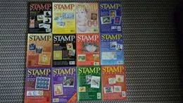 STAMP MAGAZINE JANUARY 1995 TO DECEMBER 1995  ( VOLUME 61 No. 1 - VOLUME 61 No. 12 ) - Magazines