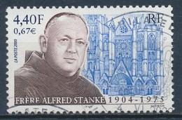 France - Frère Alfred Stanke YT 3349 Obl - France
