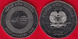 """Papua New Guinea 50 Toea 2018 """"APEC Port Moresby"""" UNC - Papúa Nueva Guinea"""