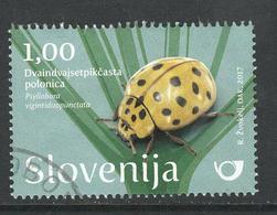 Slovenië, Yv 1059 Jaar 2017,   Gestempeld - Slovénie