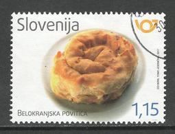 Slovenië, Yv  Jaar 2018,   Gestempeld - Slovénie