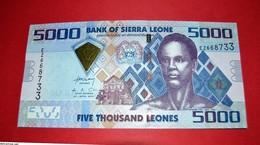SIERRA LEONE P33 5000 LEONES 2010 UNC - NEUF - FDS - Sierra Leone