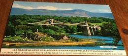 Llanfairpwllgwyngyllgogerychywrndrobwllllantysiliogogogoch ~ Menai Straits - Anglesey