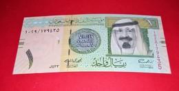 Saudi Arabia 1 Riyal 2012 (2013) P-31c Mint UNC Uncirculated Banknotes - Arabie Saoudite