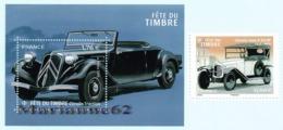 France 2019 Bloc Et TP Fête Du Timbre Citroën A10HP - Automobile Traction Voiture Car MNH Neuf Ou Oblitéré - Voitures