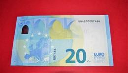 20 EURO FRANCE U010 F2 - NICE NUMBER UB4200007466 - U010F2 - UNC NEUF - EURO