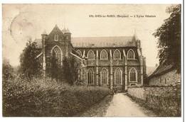 Val-Dieu-lez-Aubel - L'Eglise Abbatiale - 1924 - Edit. Vve Collard, Hôtel - 2 Scans - Aubel