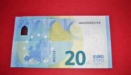 20 EURO FRANCE U010 H2 - NICE NUMBER UB 6200003729 - U010H2 - UNC NEUF - EURO